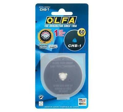 OLFA Chenille / Textile Cutter 60mm Replacement Blade