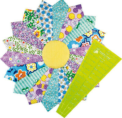 Matilda's own Straight Dresden Plate Template Set - Small 8 Inches