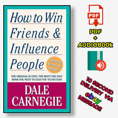 How to Win Friends and Influence People by Dale Carnegie【E-B0K&AUDI0】
