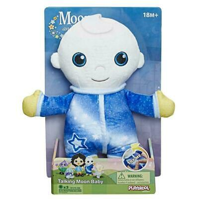 Moon & Me Playskool Moon and Me Talking Moon Baby Plush CBeebies Toy Gift NEW