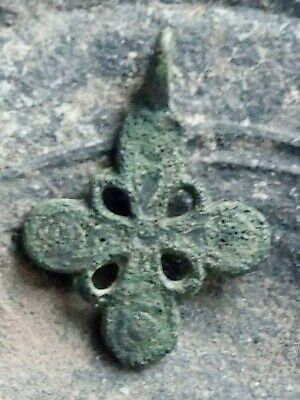 RARE ANCIENT CROSS Viking Kievan Rus 10-12 century AD