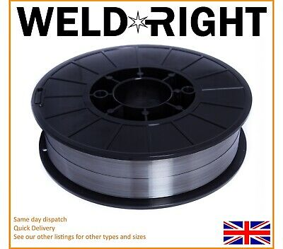 Weld Right 316 LSI Stainless Steel Mig Welding Wire Spool Reel - 0.6mm x 5kg