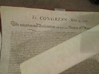 US Constitution and Bill of Right Replicas