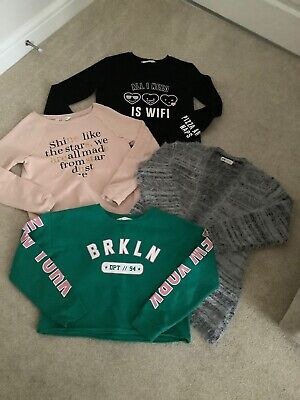 H&M Girl Tops / Jumper / Cosy Cardigan Age 10-12 Years