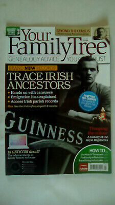 Your Family Tree Magazine June 2011 Issue 104 Mag only NO DISC