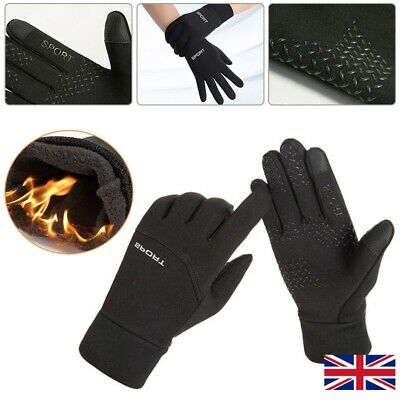 Football Gloves Boys Kids Waterproof Thermal Grip Outfield Field Player Sports