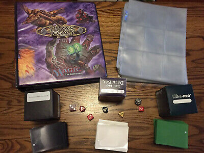 Mtg Accessory Lot - Magic the Gathering Urzas Legacy Binder 100x Sheets 3 Boxes