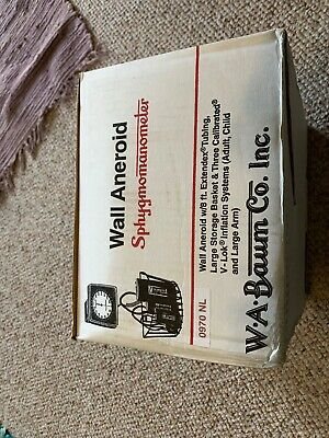 W A Baum Wall Aneroid Sphygmomanometer 0970NL (Brand New In Box) Non-Latex