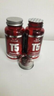 2x ZION LABS ORIGINAL T5 FAT BURNERS💥SPECIAL OFFER PRICE 💥VERY STRONG