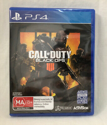 Call of Duty Black Ops 4 PS4 new sealed Aus stock