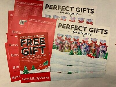 Bath & Body Works Large Lot Coupon $16.50 Item with $10 Purchase
