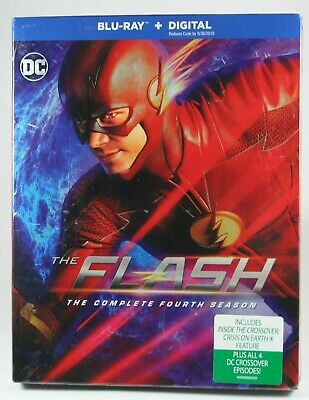 The Flash The Complete Fourth Season BRAND NEW Bluray DC Comics Grant Gustin
