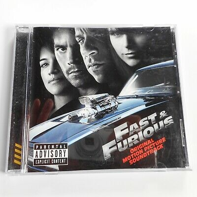 Fast & Furious Original Motion Picture Soundtrack CD Explicit Movie Music