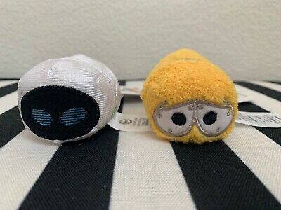 Disney Parks Tsum Tsum Disney/Pixar Wall-E, Plush Set Of 2 Mini Size, NEW