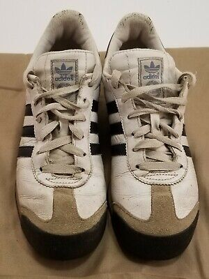 Mens Adidas Atric SHW 675001 Black Suede Shoes US Size 10