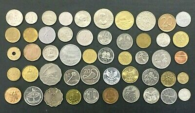 Beginners Coin Collection 2. 50 World Coins. Great Christmas Present.