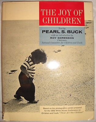 Vintage & Rare The Joy of Children Hardback Book by Pearl S. Buck (1964)