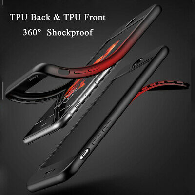 Ultra Thin Shockproof TPU Skin Cover Case Pouch For iPhone XS Max 6S 8 7 Plus XR