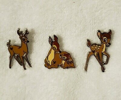 WDW 2019 Hidden Mickey Disney Bambi Wave C Pins Great Prince Mother Antlers