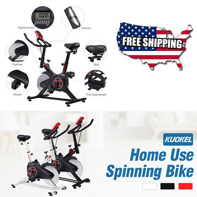Sports Bike Exercise Stationary Pro Bicycle Workout Cycle Training Gym Sports