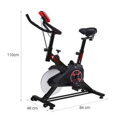 Pro Exercise Bike Stationary Bicycle Cardio Fitness Gym Indoor Workout Cycling