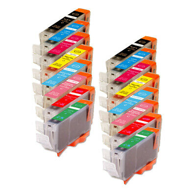 32PK Combo Printer Ink with r /& g for Canon CLI-8 Pro9000 Mark II