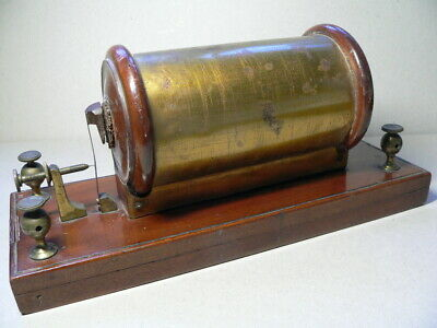 A working, late Victorian laboratory induction coil, an unusual design