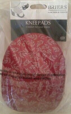 Briers Oriental Floral Knee Pads Bright Pink Garden Outdoors Gift
