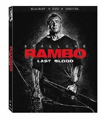 Rambo: Last Blood O-ring Sylvester Stallone Blu-ray English BRAND NEW
