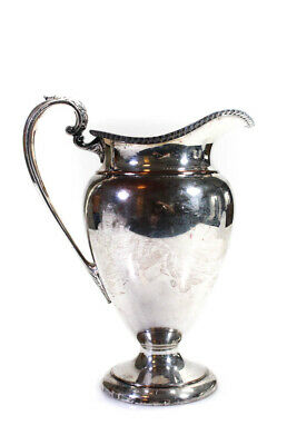 Crescent Silverware Mfg. Co. Silver Plated Vintage Water Pitcher