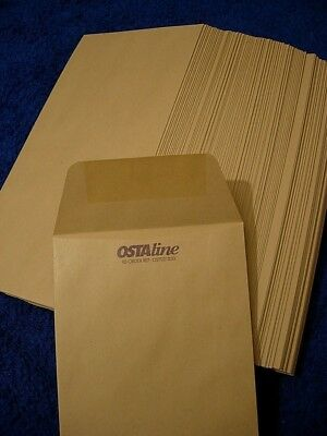 30, Ostaline ,Brown Buff Envelopes, 22 cms x 11 cms