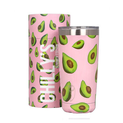 Chilly's Bottle Avocado Tumbler Coffee Cup Chillys Insulated Boxed
