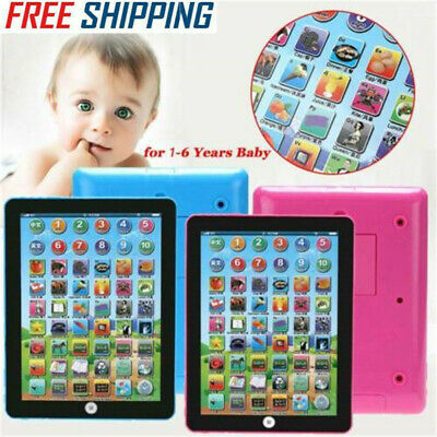 Baby Kids Tablet Educational Toy Boys Girls Toddler Learning Toy 1-6 Year Old