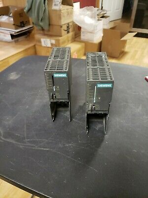 Qty 2 Siemens Simatic S7-300 Cpu315-2 Dp 6Es7315- 2Ag10 0Ab0 Used Takeout !!