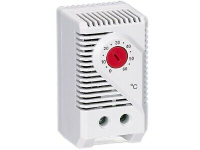 Thermostat NC Opens on Temperature Rise Switching Signal Devices Red Dial Stego
