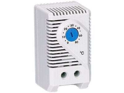 Thermostat NO Closes Temperature Rise Switching Signal Devices Blue Dial Stego