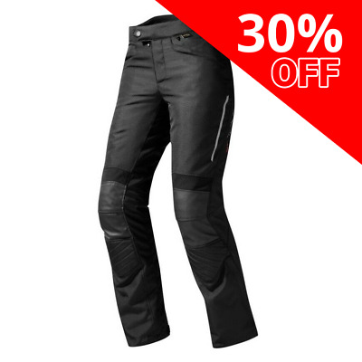 Rev'it! Factor 3 Ladies Textile Motorbike Riding Trousers Black