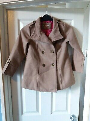 John Lewis Girls Winter Coat age 8 years good condition