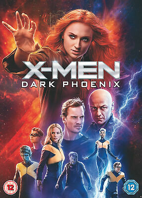 X-Men: Dark Phoenix (DVD) Region 2 Brand New And Sealed Express Delivery