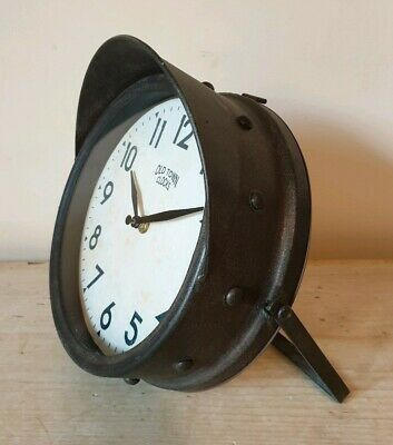 Vintage Style Interior Old Town Clock Industrial Look Boxed London Ornaments