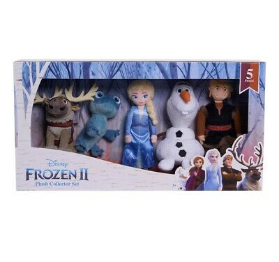 Disney Frozen 2 Plush Collector Set 🔥BRUNI SALAMANDER 🔥Elsa Kristoff Olaf Sven