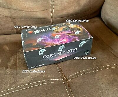 Core Set 2019 Magic Sealed Booster Box MTG English Pioneer