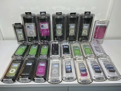 NEW Lot of 23 Mophie iPod/ Nano/ Shuffle Protective Cases - Wraptor Relo