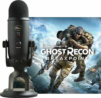 Blue Microphones - Blue Blackout Yeti + Tom Clancy's Ghost Recon® Breakpoint ...
