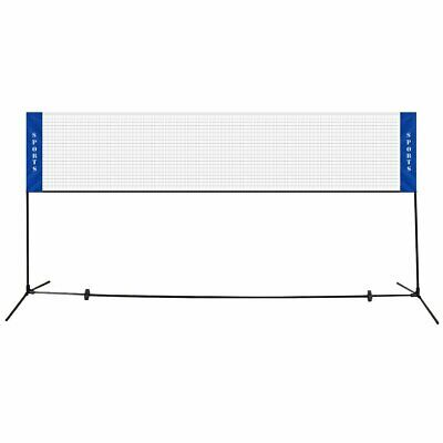14' x 5' Portable Beach Training Badminton Net with Carrying Bag
