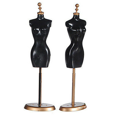 Clothes Dress Gown Outfit Mannequin Model Stand Holder Display for Dol qd