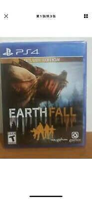 EarthFall Deluxe Edition / PS4, PlayStation 4 / BRAND NEW with Two Free Movies