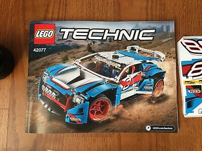 LEGO Set No 42077 Technic Rally Car Brand New Sealed Bags No Box Excellent
