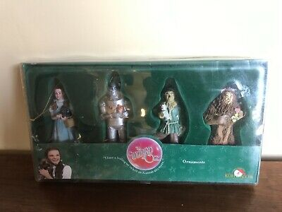 Kurt S. Adler The Wizard of Oz 4 Piece Ornament Set - Complete in box