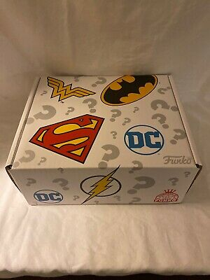 POP! Funko DC Comics MYSTERY BOX~Wal Mart Exclusive~New in Box